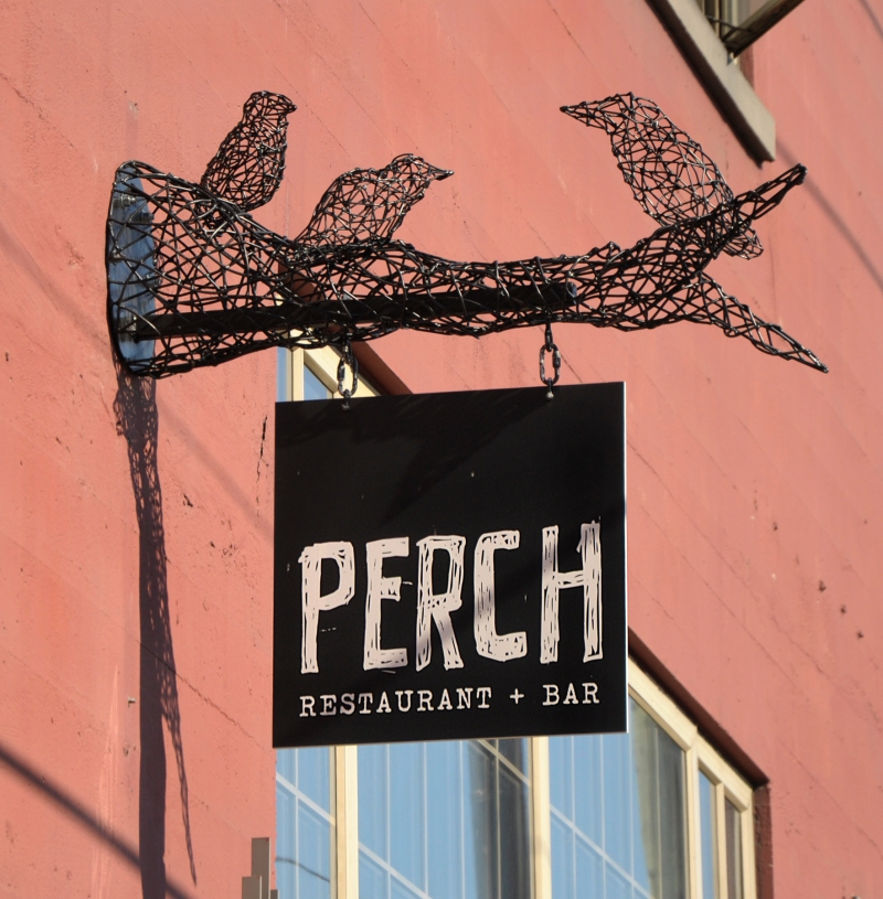 Perch Metal Signs Vancouver Powel-St