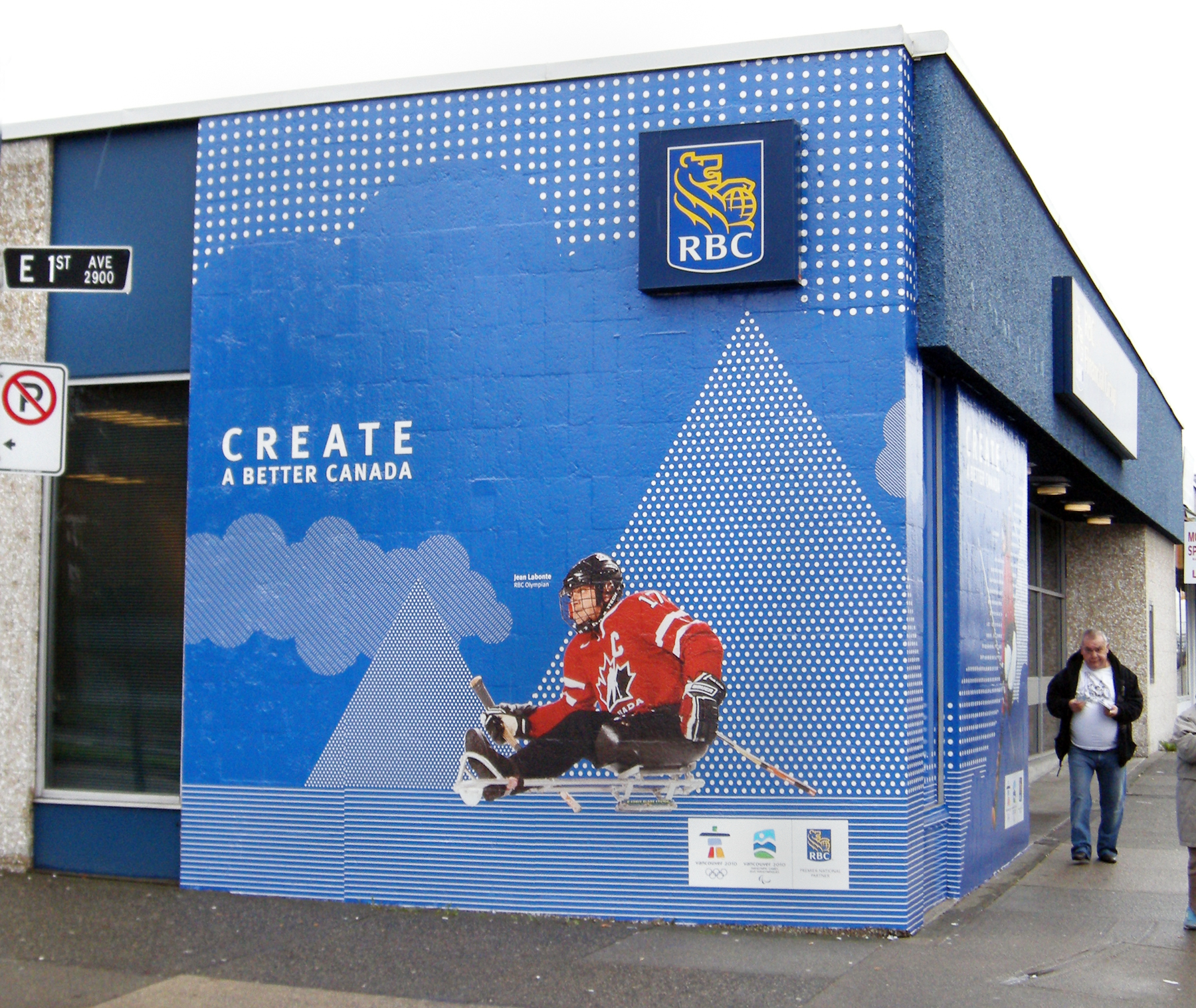 Rbc Vancouver 2010 Olympic Games 171 Custom 3d Vinyl And