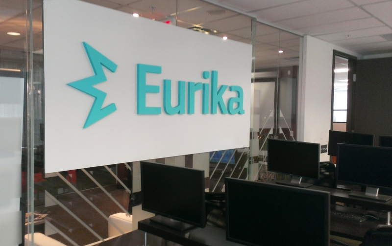 Eurika Interior Sign Mount Pleasant Vancouver